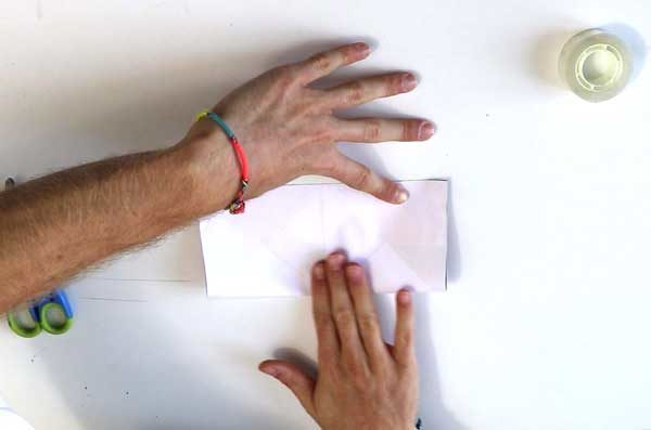 Faire une cocotte en papier - étape 2b