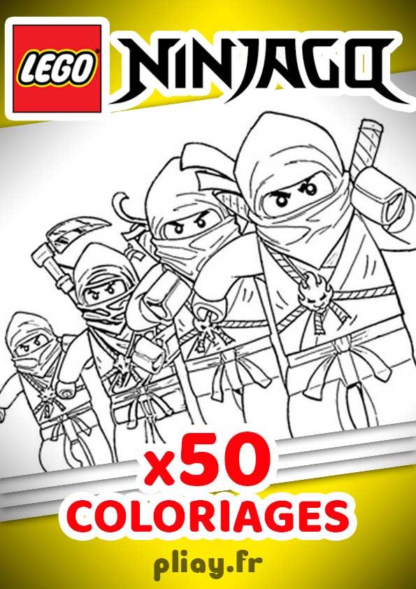 Coloriages Ninjago Pack De 30 Coloriages A Imprimer Pliay