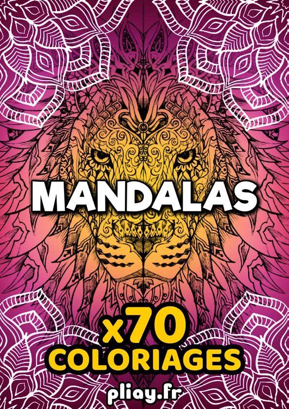 Coloriages Mandalas - 70 pages gratuites